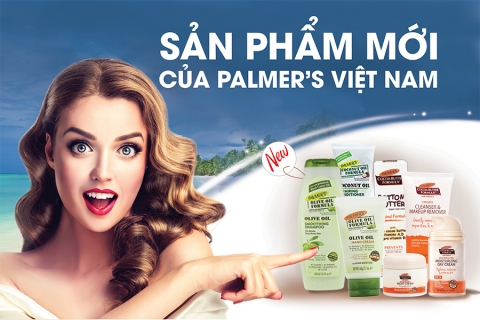 Công ty LA MI nhập khẩu bổ sung hơn 10 sản phẩm Palmer's tại thị trường Việt Nam
